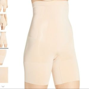 SPANX/ high waist mid thigh shaper